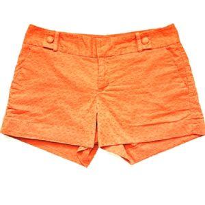 NWOT Banana Republic Ryan Fit Orange Shorts